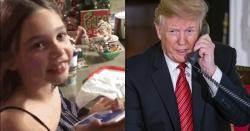 """""""아직도 산타 믿니?"""" 트럼프 질문받은 7살 어린이 대답"""