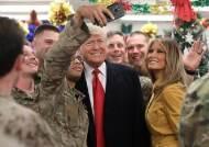 트럼프 이라크 몰래 방문…폭풍트윗 멈춰 사전에 들켰다