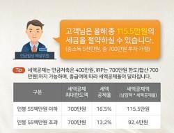 [함께하는 <!HS>금융<!HE>] 세금공제 혜택에 상품권까지… 연말정산 앞두고 연금 이벤트