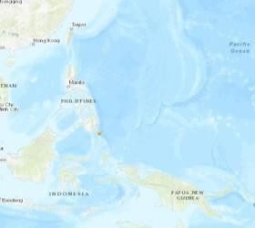 """필리핀 남부 섬에서 규모 6.9 지진…""""<!HS>쓰나미<!HE> 경보는 해제"""""""