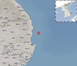 새해 첫날 아침 영덕 앞바다에서 규모 3.1 <!HS>지진<!HE> 발생