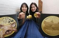 100돈 황금돼지에 80% 할인…백화점 신년 세일 '후끈'