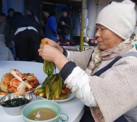 사찰음식 '글로벌 스타' 정관 스님의 천진암 김장