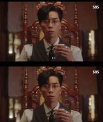 """""""믹스커피에 홀릭""""..'황후의 품격' 신성록, 본방사수 독려"""