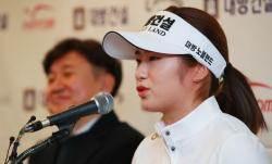 """LPGA 데뷔 이정은 """"5년 연속 한국 선수 신인상 도전"""""""