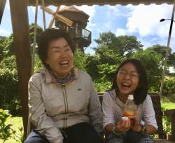 이 선한 아이의 웃음이 정말 나를 닮았나요?