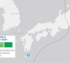 <!HS>일본<!HE> 남동부 미야자키·가고시마 인근 규모 6.4 <!HS>지진<!HE>