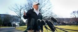 트럼프, 다보스포럼 참석 전격 취소
