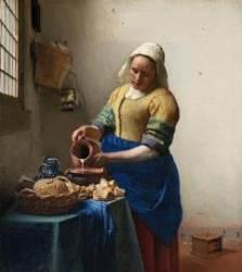 평범한 여성을 시대의 주인공으로 그린 화가, 베르메르