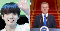 South Korean President MOON Mentions BTS At New Year Press Conference