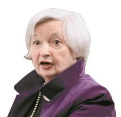 """옐런 전 Fed 의장도 속도조절에 한표…부의장까지 """"인내"""""""