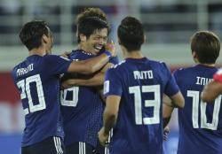 일본, 우즈베크에 2-1승...F조 1위 16강행