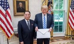 """美백악관 """"<!HS>트럼프<!HE>, 김영철 만날 예정…완전한 비핵화 논의"""""""