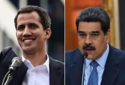 [서소문사진관] 베네수엘라 한 나라에 대통령이 두 명? 어쩌다 이런 일이