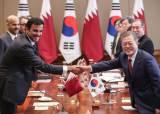 """文대통령 """"카타르, 4강 진출 축하…아시안컵 꼭 우승하길"""""""