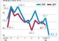 설 연휴 낀 2월 도소매업마저 비명…BSI 10년 만에 최악