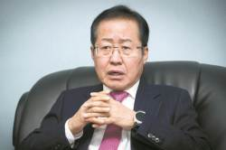 """홍준표 """"자칫하면 탄핵총리가 당대표…여당선 황나땡 반겨"""""""