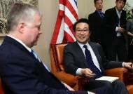 """한·미·일 북핵수석 협의…""""비핵화 실질적 진전 이뤄내야"""""""