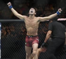 일본 킬러 강경호, 올해도 <!HS>UFC<!HE> 한국인 파이터 첫 승