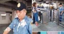 """""""액체 반입 금지""""…中 여대생, 필리핀 경찰에 푸딩 던져 '발칵'"""