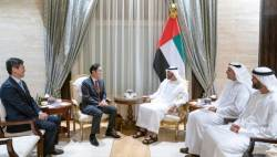 <!HS>이재용<!HE> 부회장, UAE 건너가 왕세자 접견…5G 이동통신 논의