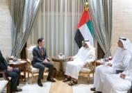 이재용 부회장, UAE 건너가 왕세자 접견…5G 이동통신 논의