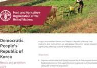 """FAO """"北주민 43%, 영양결핍…인도적 지원 시급"""""""