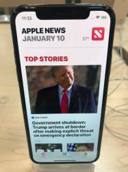 <!HS>애플<!HE> '유료 뉴스 앱' 내놓는다…10달러에 모든 뉴스 구독