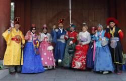 한복 입는 즐거운 설? 일본서 인터넷 뒤져보니