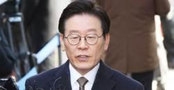 """이재명 """"최선 다하고 있다""""…<!HS>김경수<!HE> 관련 질문에는 """"내 사건만 집중"""""""