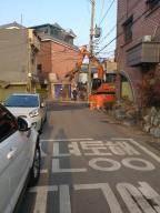 """인천 집창촌 '옐로하우스' 철거 착수…주민 """"못 나가"""""""