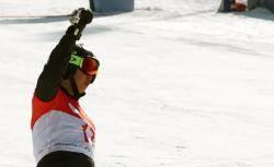 '배추보이' 이상호, 평창 스노보드 월드컵 동메달