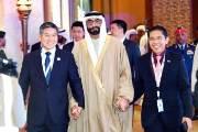 [사진] 정경두 국방장관 UAE 방문