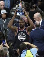 팀 르브론, NBA 올스타전 승리…MVP 듀랜트