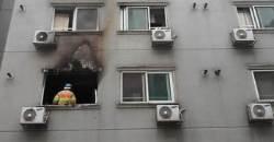 '5명 중경상' 천안 오피스텔 화재 방화범은 205호 여성