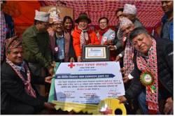 대한적십자사, 네팔 지진 피해 재건복구 사업 성료
