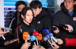 '왕따 논란' 김보름 체전 1500m 우승