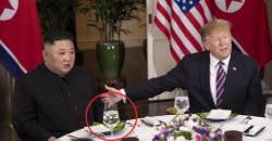 김정은만 투명 물잔<!HS>,<!HE> <!HS>트럼프<!HE>는 기자단과 갈등…결렬된 회담 이상 조짐?