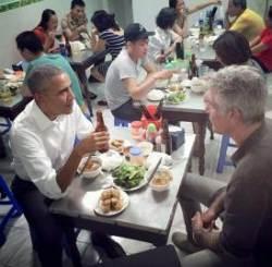 오바마가 사랑한 '분짜', 김정은도 맛볼까...베트남 식당들 '정상회담 마케팅'