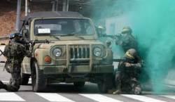 [서소문사진관] 미세먼지 폭격 속 2019년 첫 예비군훈련 시작