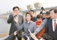 """""""금강보 철거 손해배상 청구하겠다""""…공주보 찾은 자유한국당"""
