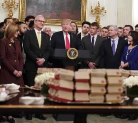 [서소문사진관]미국이 만든 위대한 음식=햄버거?<!HS>,<!HE> <!HS>트럼프<!HE>의 햄버거 예찬