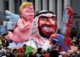[서소문사진관]세계 3대 카니발 최고의 풍자 소재는 트럼프 대통령