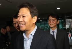 """민주당 '복귀 신고식' 한 <!HS>임종석<!HE>…""""당 위해 헌신"""""""