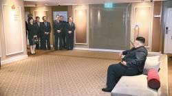 [사진] 북, <!HS>하노이<!HE> <!HS>회담<!HE> 전 작전회의