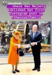 [서소문사진관] 92세 엘리자베스 2세 여왕이 첫 인스타그램 올리는 순간!