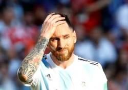 메시가 돌아왔다...8개월만에 아르헨 대표팀 컴백