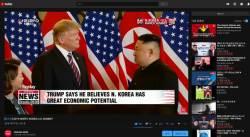 아리랑TV 제2차 북미<!HS>정상회담<!HE> 온라인 콘텐트 조회수 1000만회 돌파