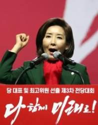 한국당 지지율 30.4%···국정농단 이후 첫 30%대 회복
