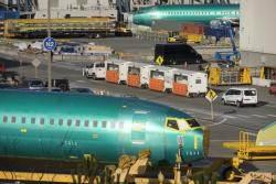 [서소문사진관]보잉 737 맥스, 안전성 우려 커지는데...공장은 계속 가동중...